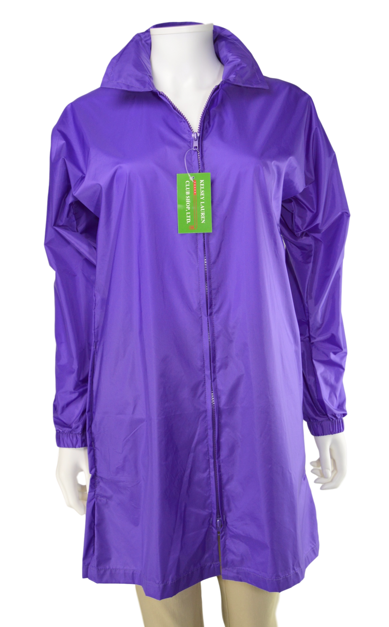Kelsey Lauren Raincoat - Purple