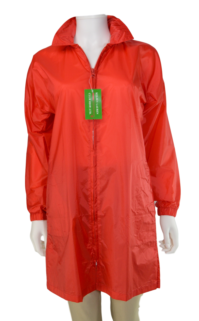 Kelsey Lauren Raincoat - Red