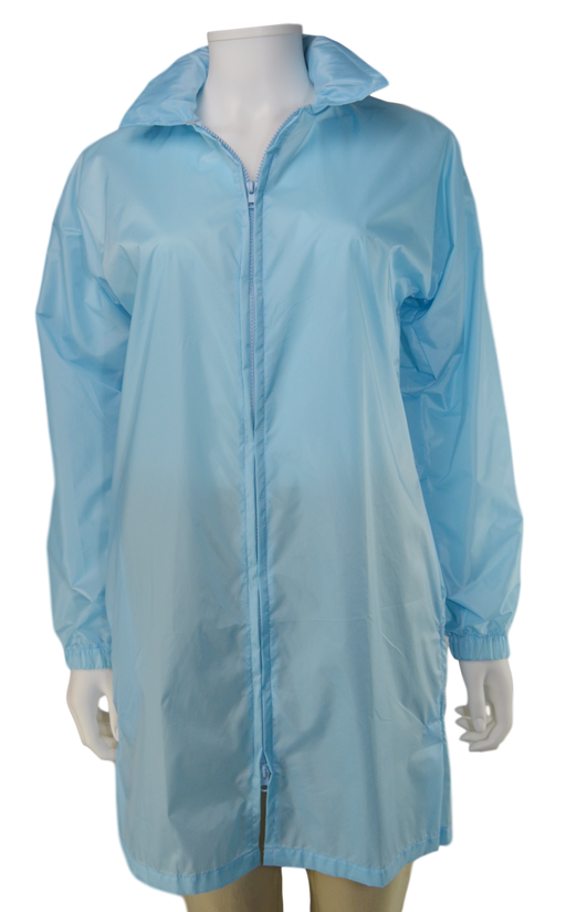 Kelsey Lauren Raincoat - Light Blue
