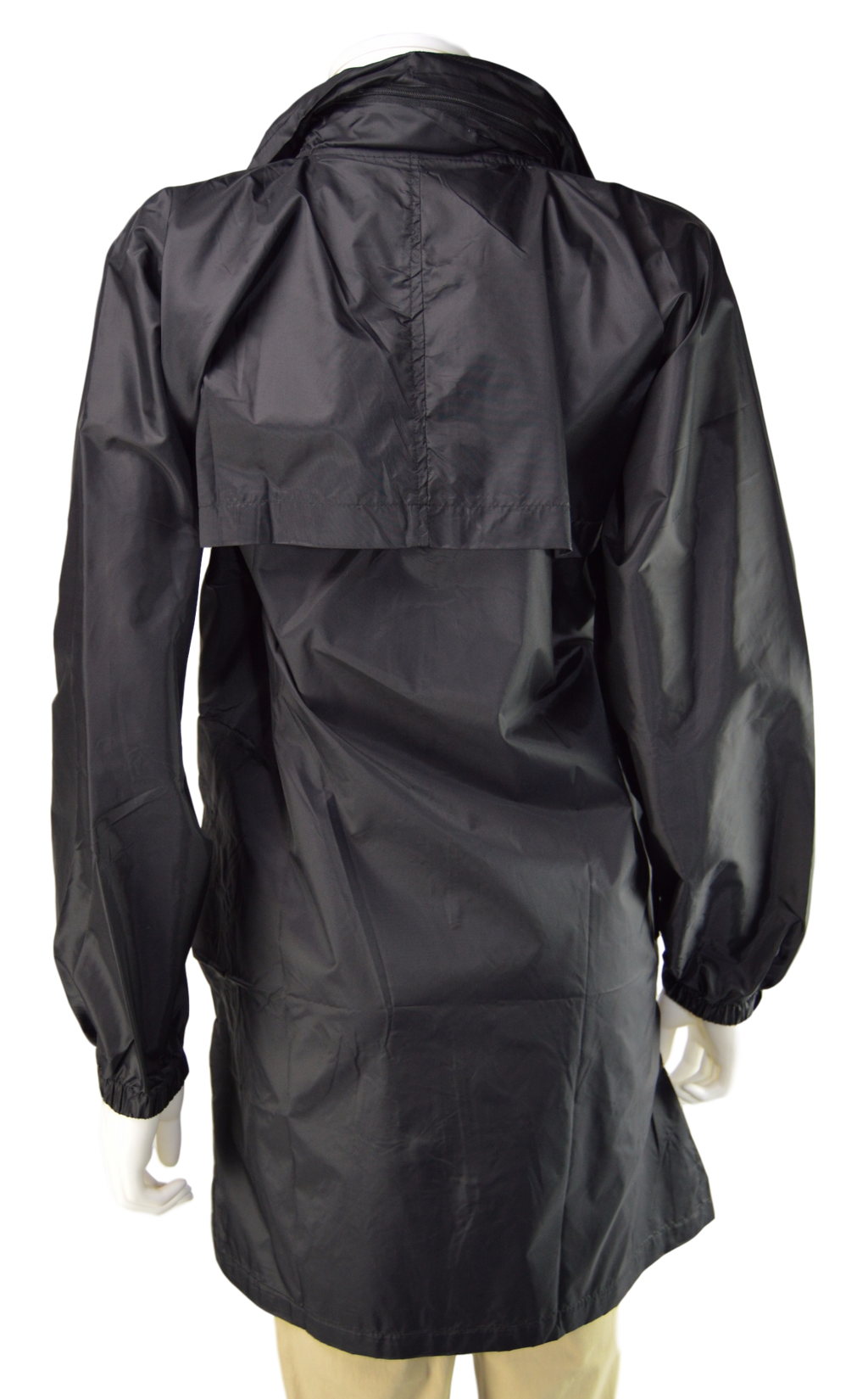 Kelsey Lauren Raincoat - Black