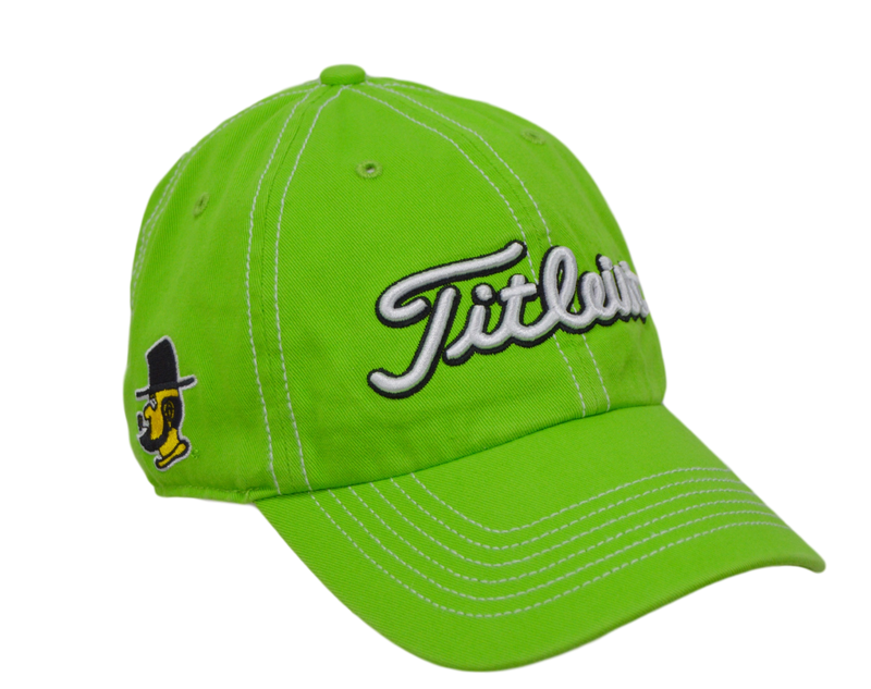 Titleist Golf Hat - Appalachian State 3 logo - Green/Adjustable
