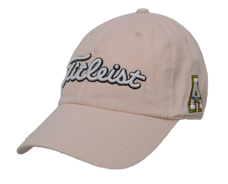 3a8c1b99322 ... mesh hat 7bc7e bbb53 discount titleist golf hat appalachian state 3  logo pink adjustable 249b0 36bc3 ...