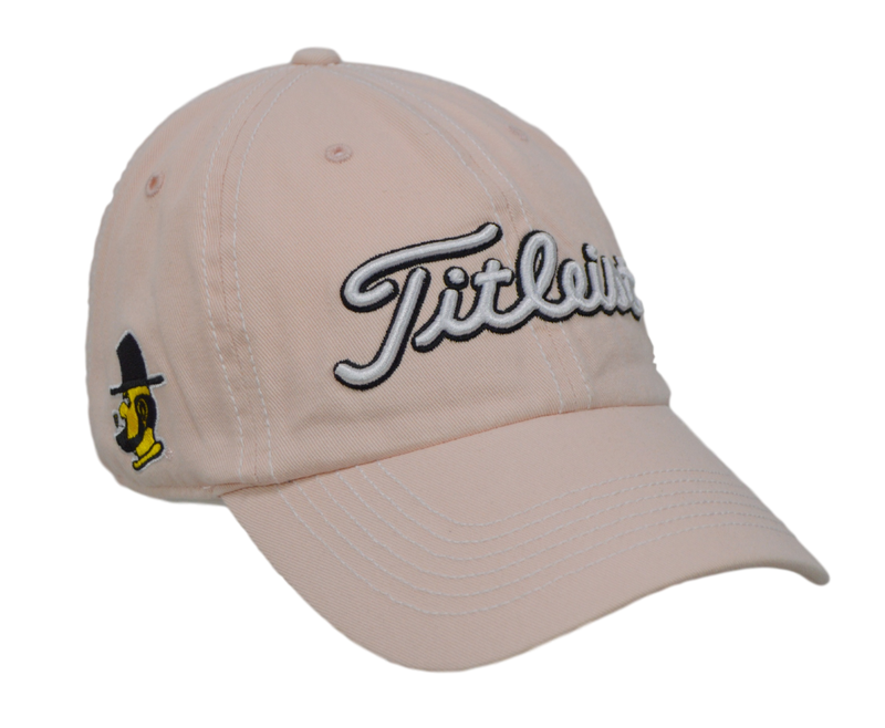 Titleist Golf Hat - Appalachian State 3 logo - Pink/Adjustable