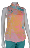 Jamie Sadock Lava Print in Yum Yum- Sleeveless #71266
