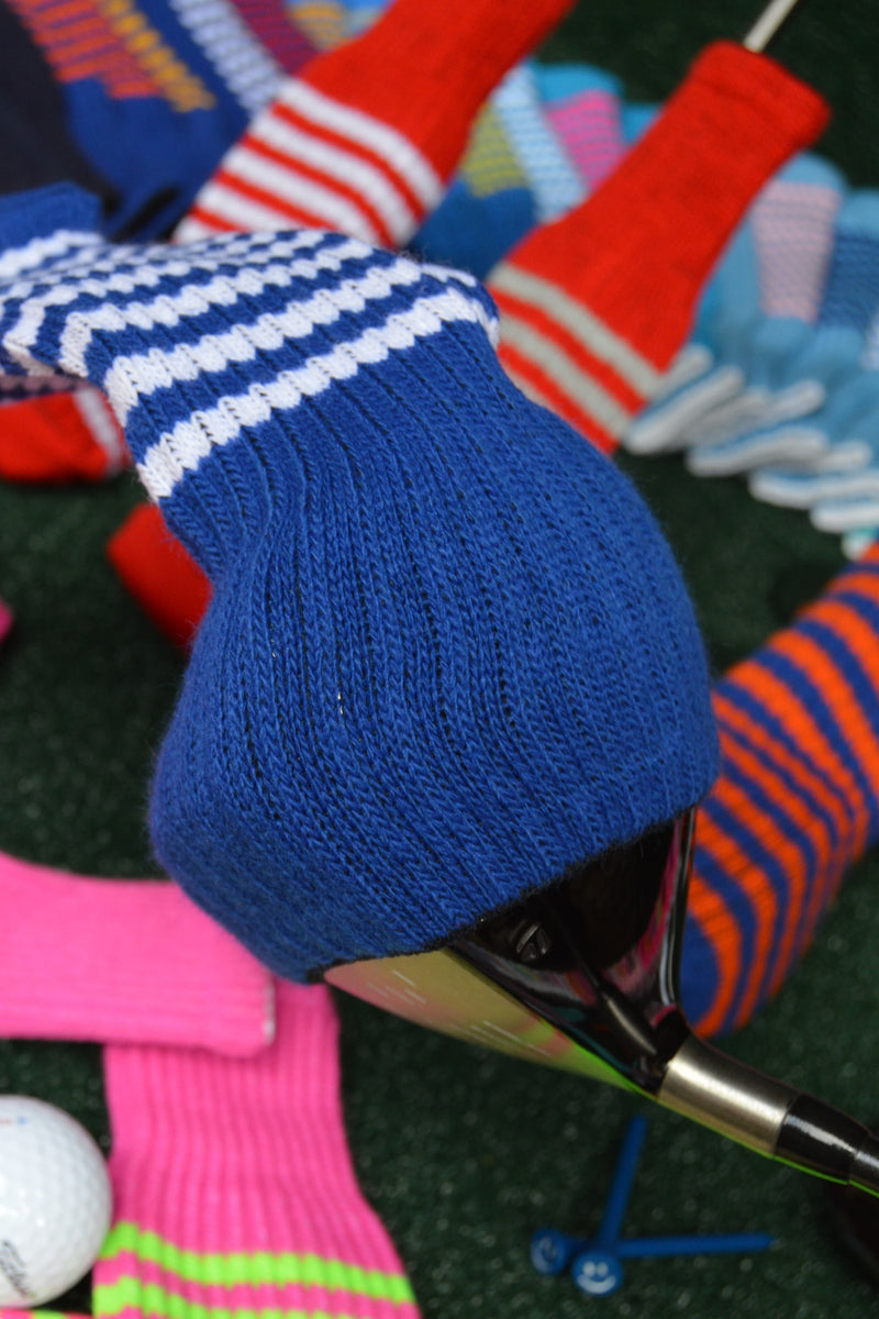 Silver Club Sock Golf Headcovers