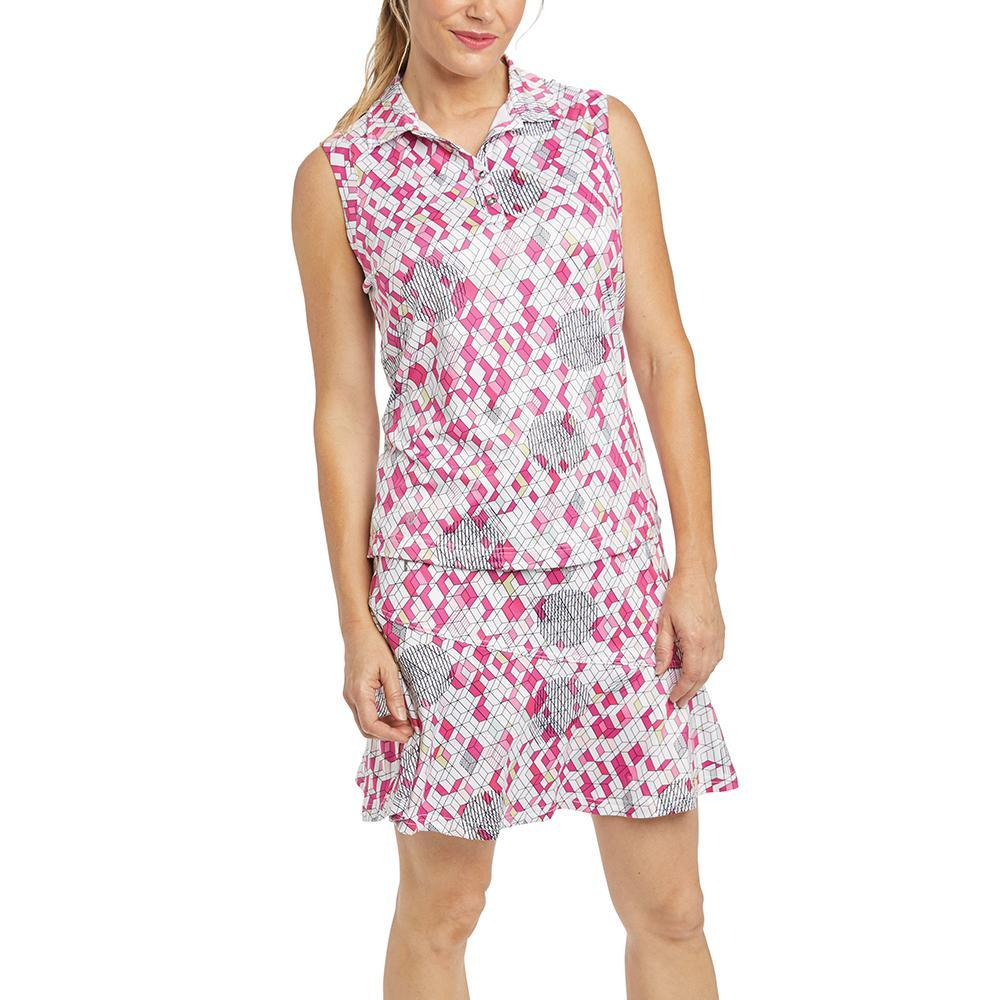GG Blue Holly Sleeveless Bloom Print | SPF 50