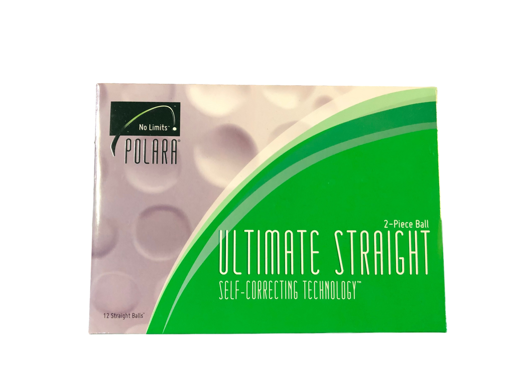 Polara Ultimate Straight Golf Balls - 1 Dozen