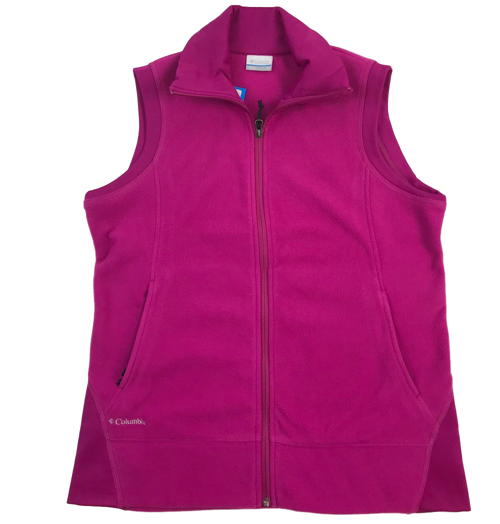 Columbia Give and Go Vest in Black/Magenta