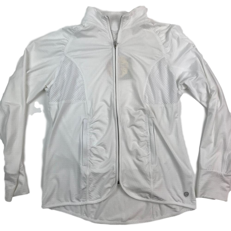 Bette & Court SPF 50+ Cool Elements Longsleeve Jacket - White