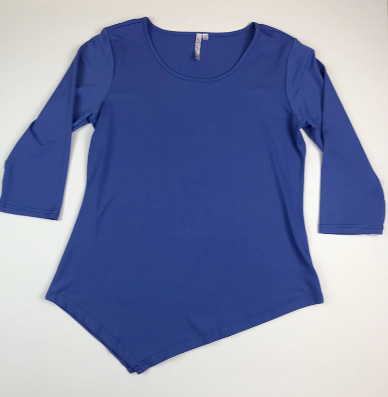 Lulu B Long Sleeve Top Blue | SPF 50
