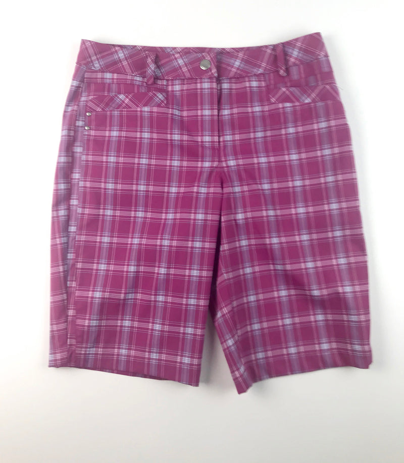 Nivo  Short- Plaid Pink