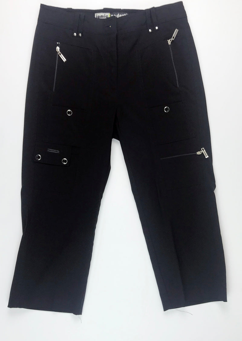 Jamie Sadock Golf Knee Capri  01315 -Black