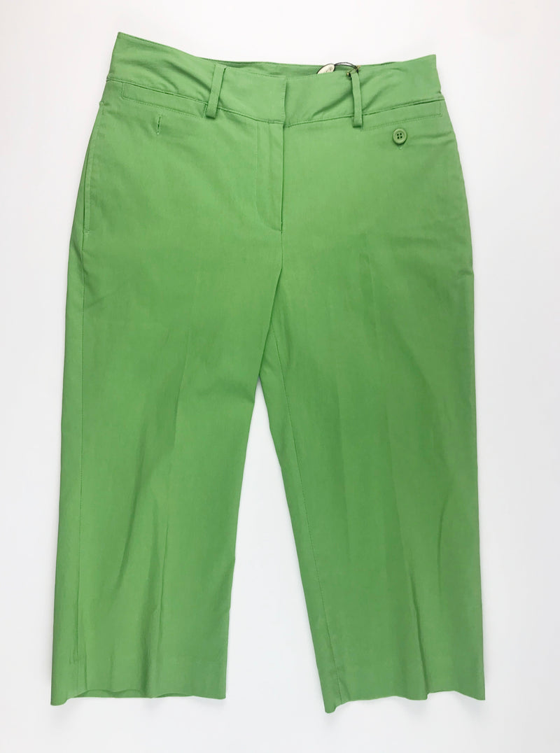 Sport Haley Knee Capri-Spring Green