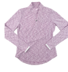 Zero Restriction Shae Zip Mock - Lilac Print