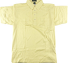 Sahara  Mens  Yellow  Short  Sleeve Polo
