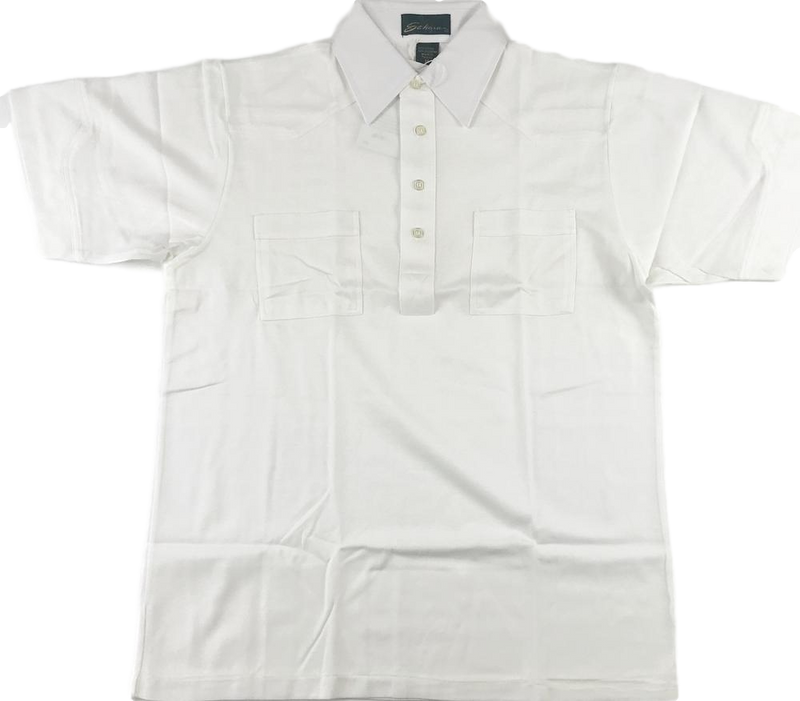 Sahara  Mens  White  Short  Sleeve Polo