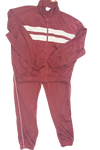 Sahara  Mens  Burgundy Jogging Suit