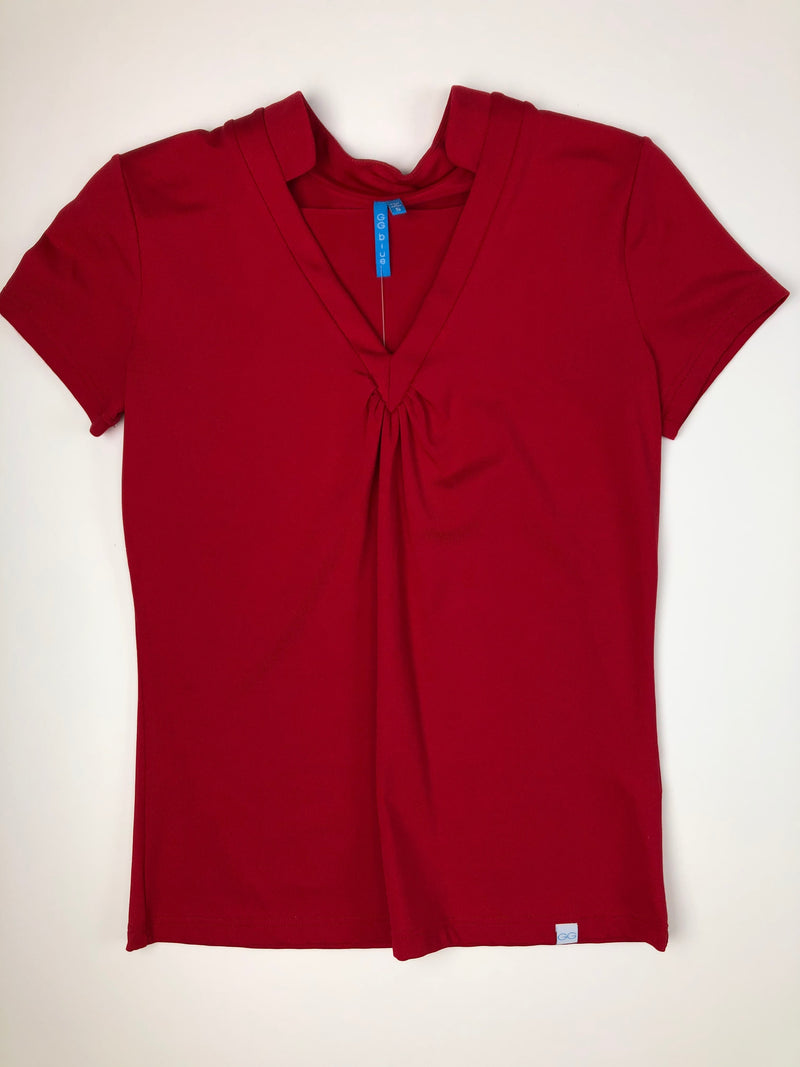 GG Blue Shanette Tee Red