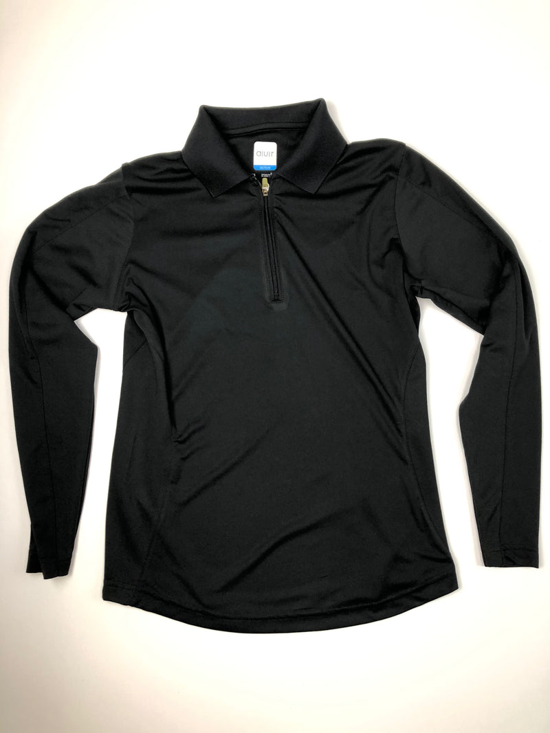 AUR Black Long Sleeve Shirt