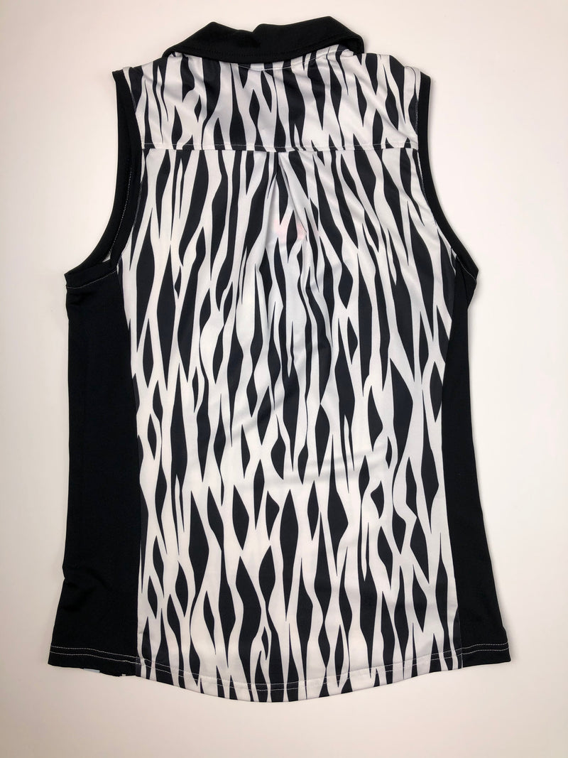 GG Blue Jenni Sleeveless Polo