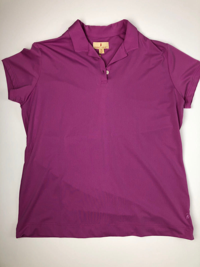 Sport Haley Short Sleeve in Purple #1601