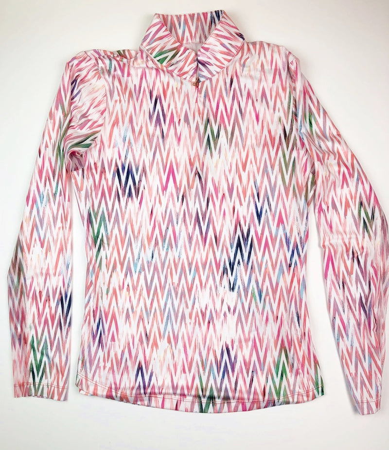 EP NY Long Sleeve Ikat Multi Print | SPF 50