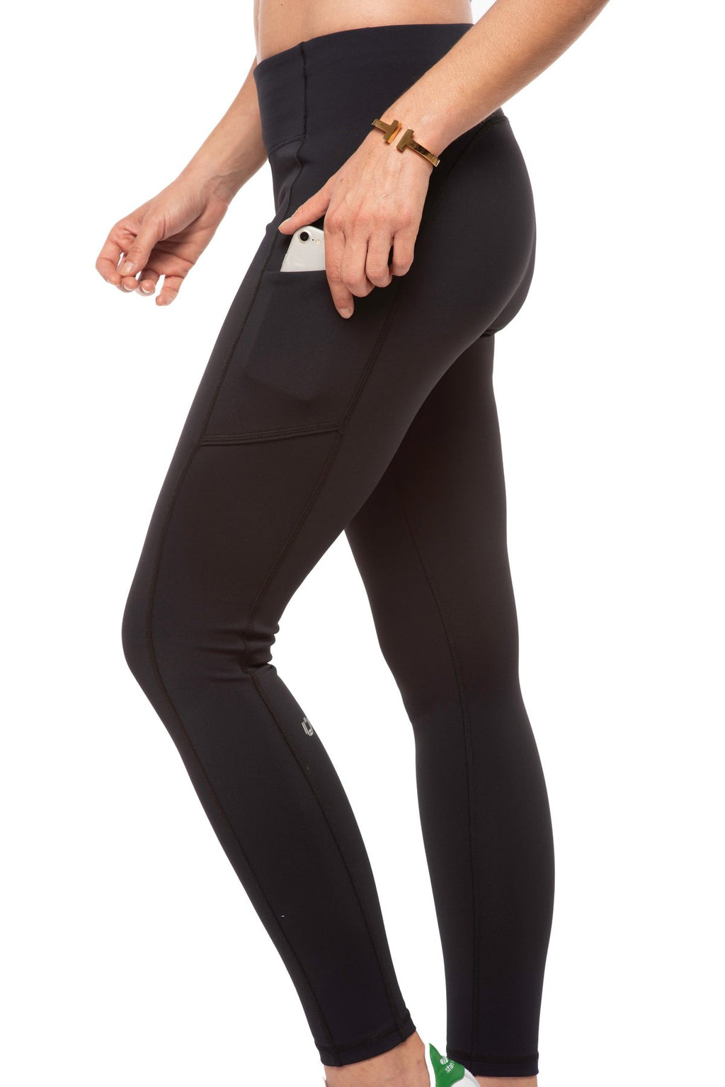 Ibkul Icifil  Performance Leggings- Black