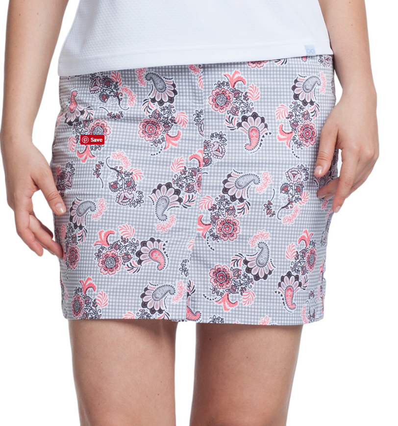 GG Blue Melon Melody - Retro Dunes Skort