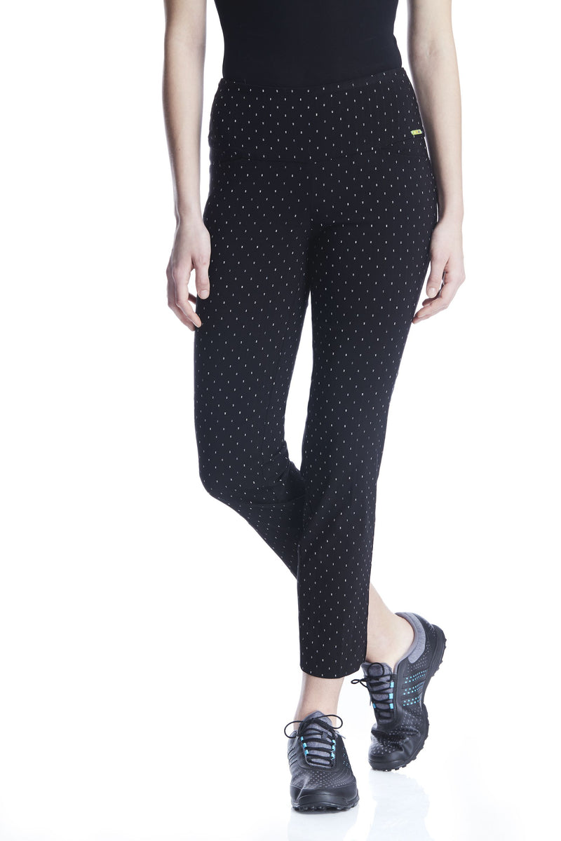 Swing Control Masters Ankle Pant -Double Dot Jacquard