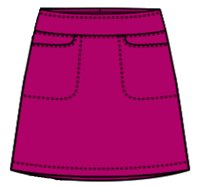 Nivo Diversity Essential Pull On Skort - Very Berry