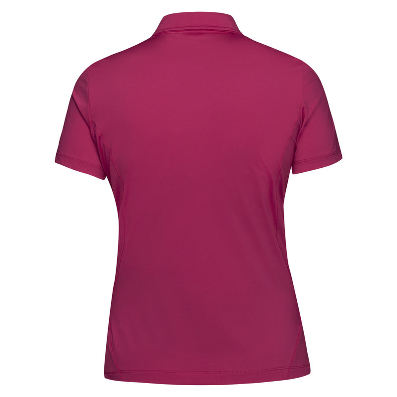 Nivo Diversity Polo UPF 30 Sun Shirt - Very Berry