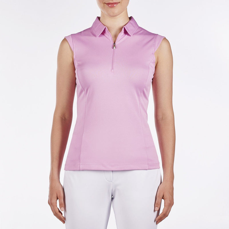 Nivo Nelly Sleeveless Polo - Wild Orchid - SPF 40