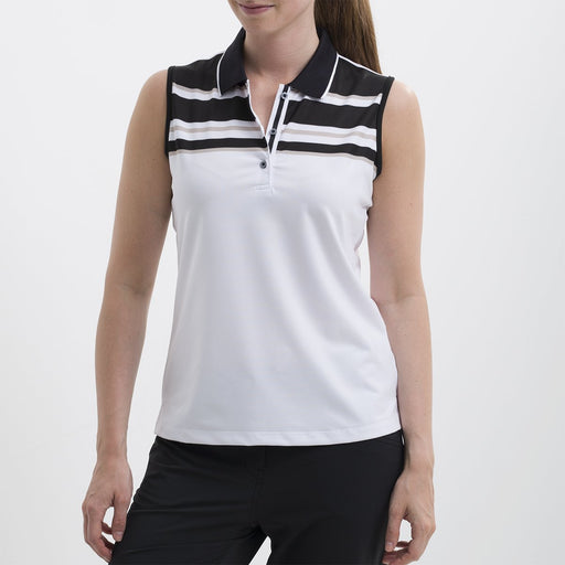Nivo Paris Sleeveless Print Polo - SPF 40