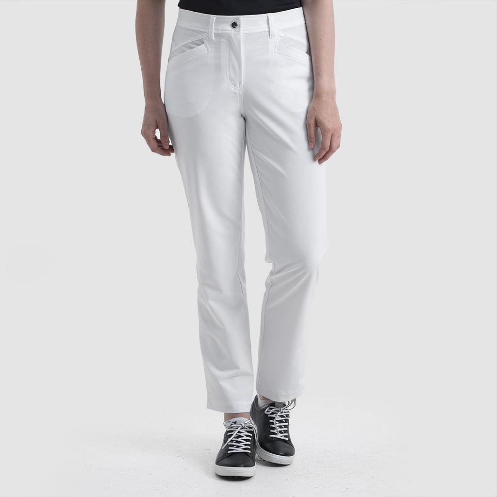 Nivo Mabel Ankle Pant - White