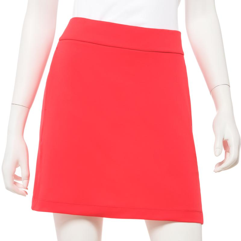 EP NY Knit Skort with Back Mesh Pleat - SPF 50 Red Flag
