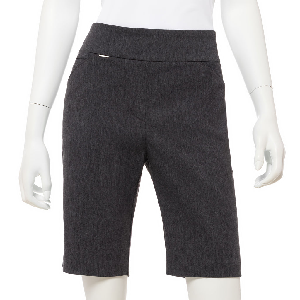 EP NY Bi Stretch Pull On Short - Mineral Grey