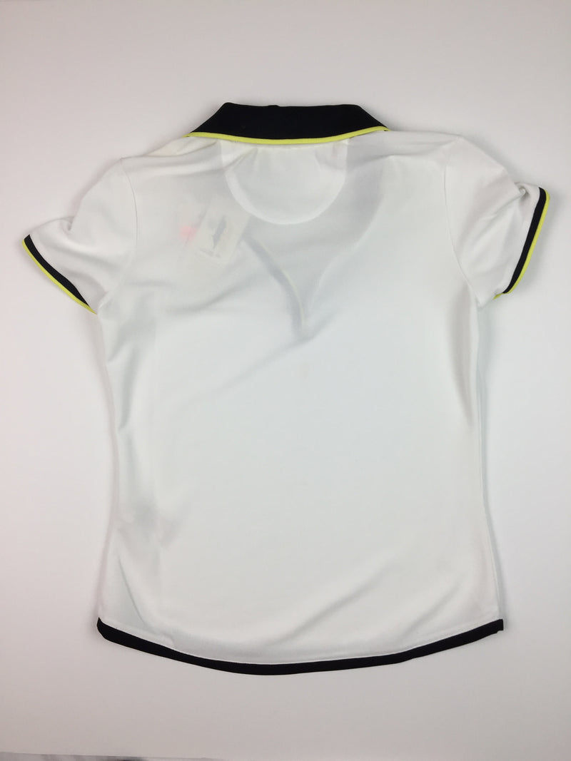 EP Pro Short Sleeve Polo - Black/Chartruese Accents