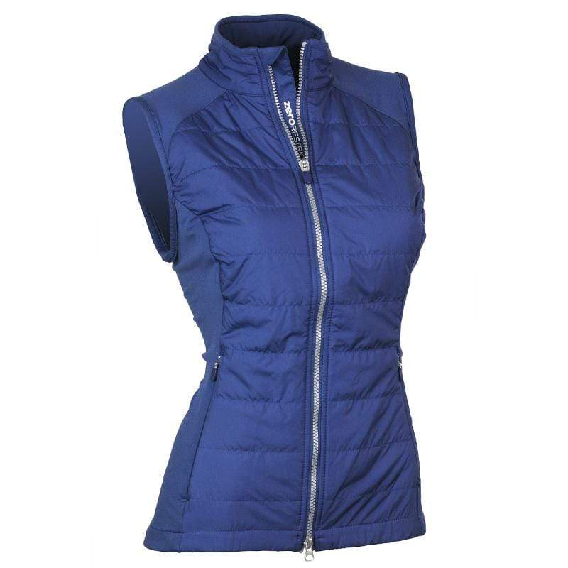Zero Restriction Tess Vest - Storm Blue