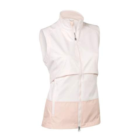 Zero Restriction CAMERON Wind Vest - White