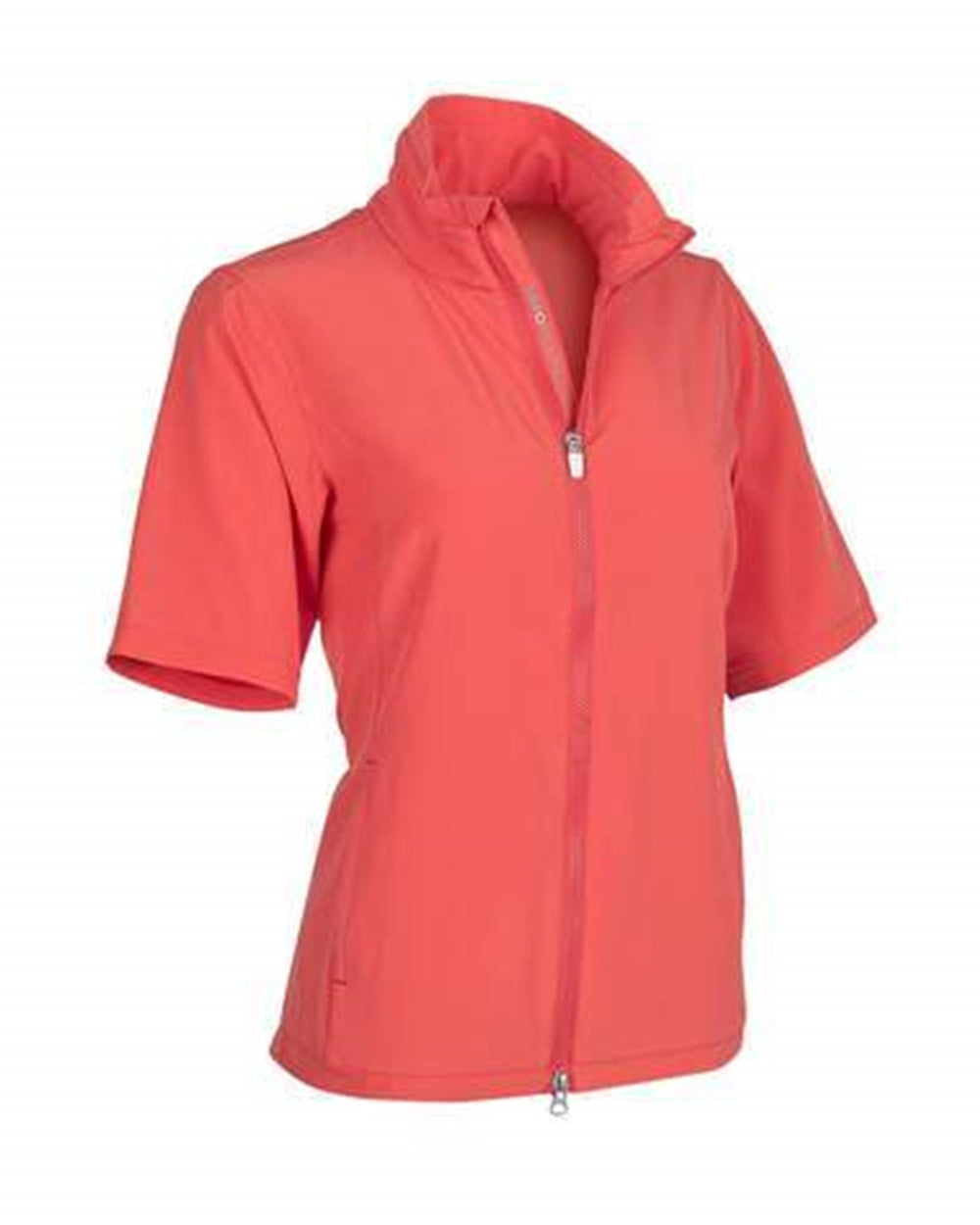 Zero Restriction EVE Short Sleeve Wind Jacket - Poppy