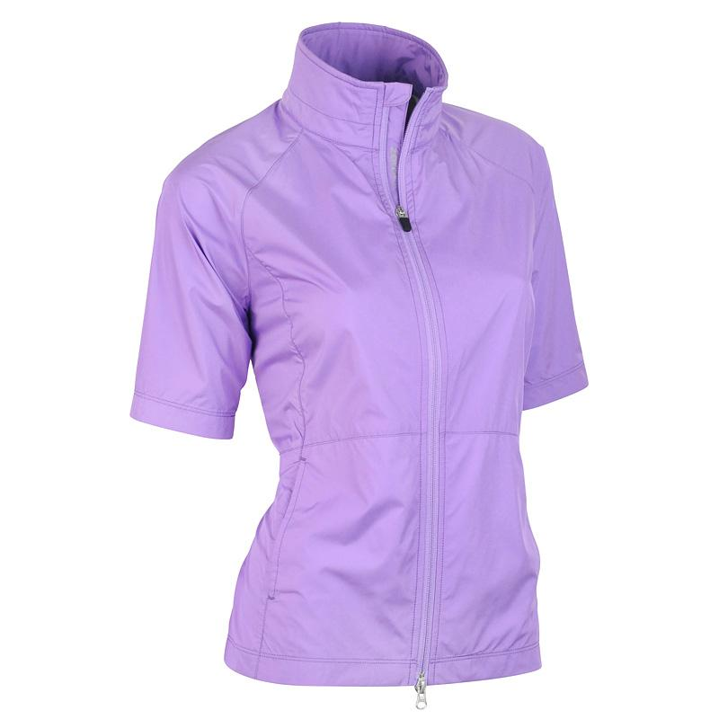 Zero Restriction Kelly Wind Jacket - Hibiscus