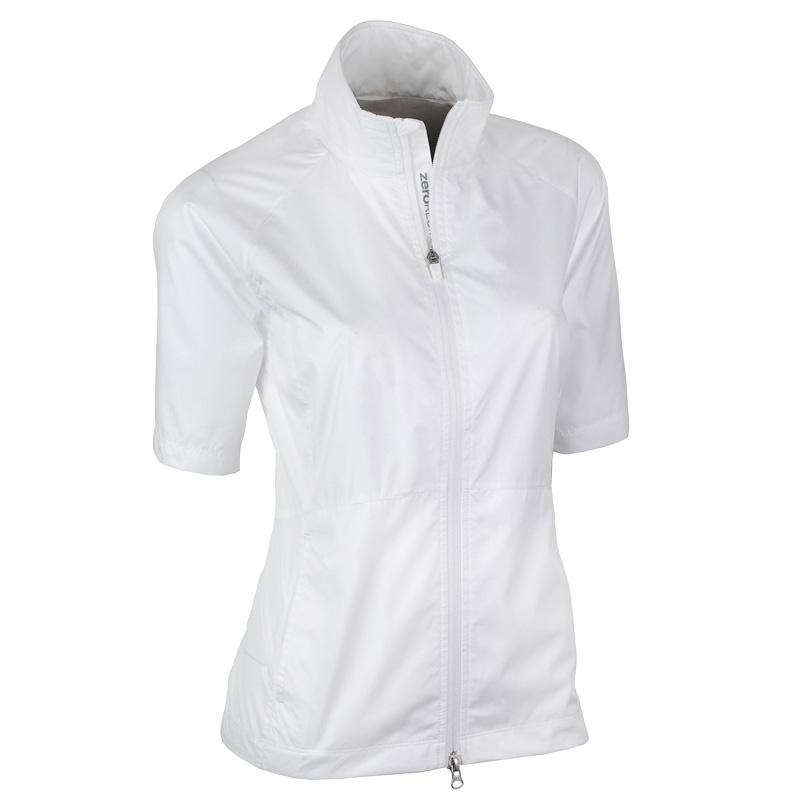 Zero Restriction Kelly Wind Jacket - White
