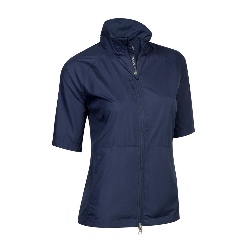 Zero Restriction Kelly Wind Jacket - Storm Navy