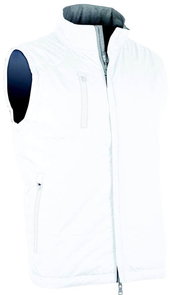 Zero Restriction Men's Vest - Kiely White