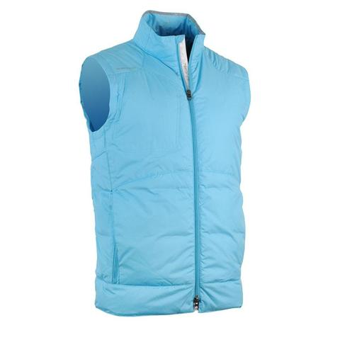 Zero Restriction Men's Vest -Spencer Bermuda Blue