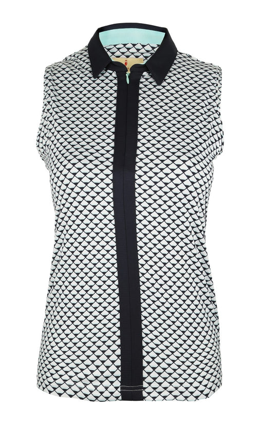 Sport Haley Emma Sleeveless Print Polo | UPF 30