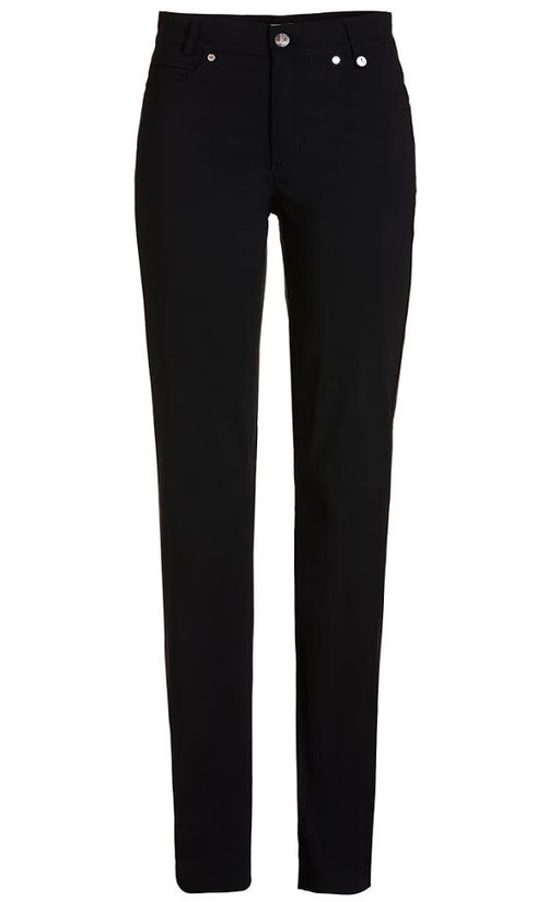 Golfino Water-Repellent Techno Stretch Ankle Pant - Black