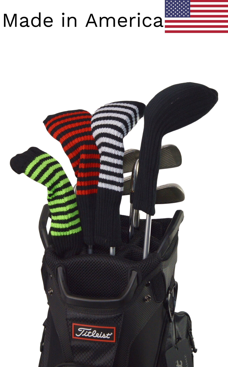 Black Club Sock Headcovers