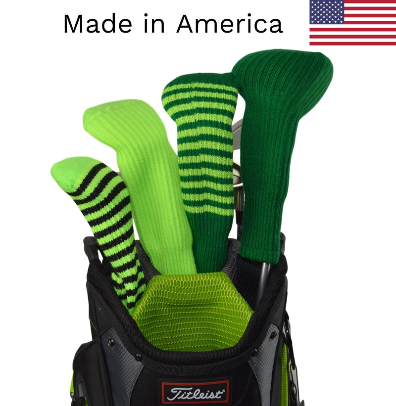 Green Club Sock Golf Headcovers