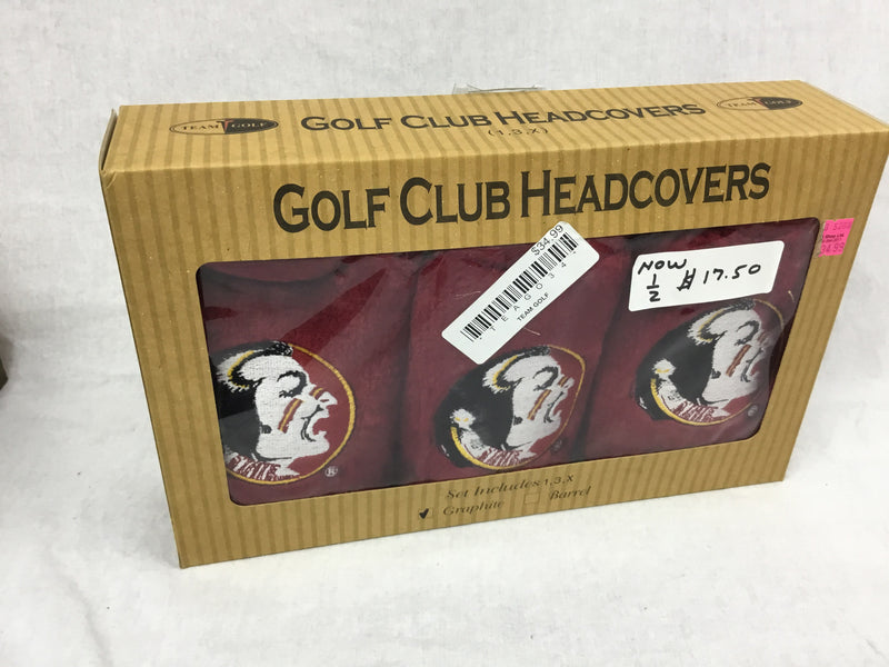 Florida State Golf Headcover Gift Set